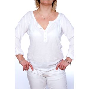 Dámské triko Ralph Lauren bílé s propínáním