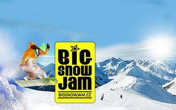 Týden ve Francouzských Alpách za 4999 Kč! UBYTOVÁNÍ na 7 nocí u sjezdovky, 6x SKIPAS Risoul/Vars (celkem 180 km sjezdovek a 3 snowparky), FREESTYLE kurz, průvodce, ski test a 4 KONCERTY! To je Big Snow Jam 2013! Sleva 37%!