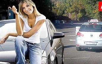 3 kondičné jazdy v autoškole