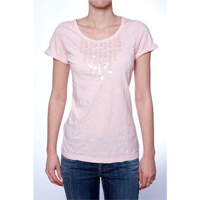 Dámské triko Ralph Lauren růžové