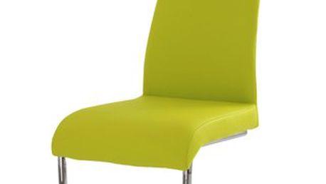Kovová židle - vhodná do kuchyně nebo do jídelny.