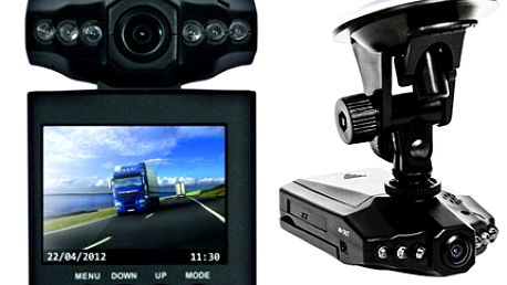 Minikamera do auta s nočním viděním!