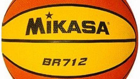 Mikasa BR712 - špičkový basketbalový školní míč