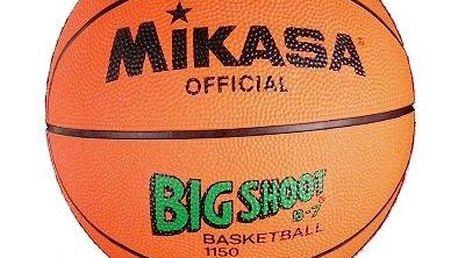Basketbalový míč MIKASA 1150 - odsouhlasený míč II. kategorie.