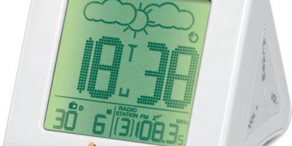 Digitální budík se zesilujícím vyzváněním oregon scientific barm839