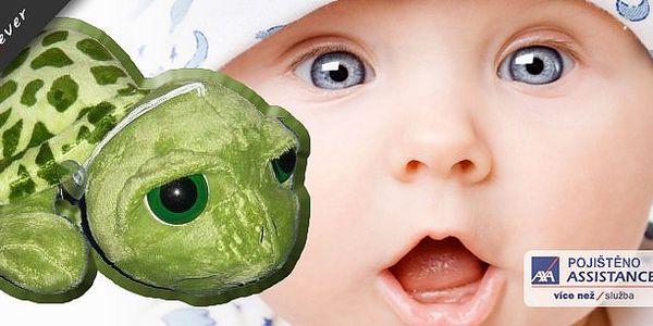 Plyšová želvička, která rozsvítí očička Vašeho dítěte a stane se jeho nejoblíbenější hračkou k pomazlení!! Za super cenu 130 Kč!!