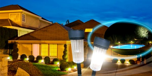 5 kusů solárních zahradních LED světel za skvělých 199 Kč! Oživte Vaši zahradu stylovými solárními lampami se slevou 42%! Využijte energii která je ZDARMA!