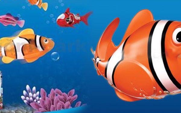 Robotická rybka: neuvěřitelně realisticky simuluje pohyby akvarijních ryb!