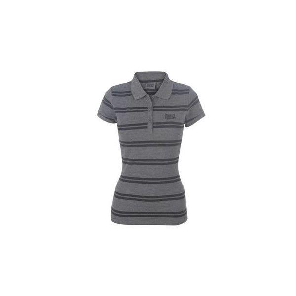 Dámské tričko Lonsdale YD Polo Ladies - pruhovaný vzhled a ležérní styl.