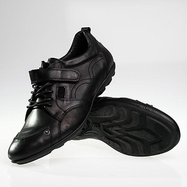Černé pánské elegantní boty