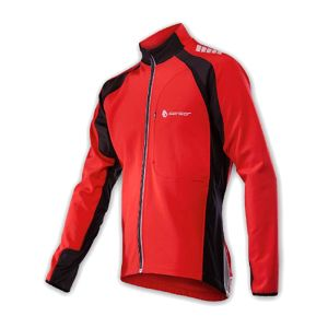 Pánská univerzální softshellová bunda vhodná pro cyklistiku, běh a další aktivity.