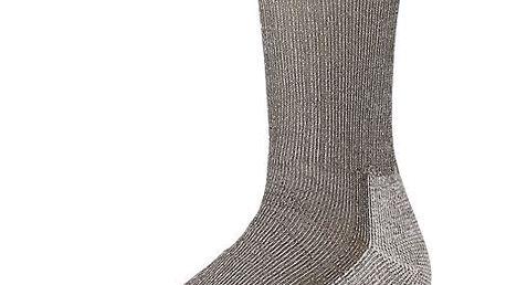 Mimořádně pohodlné dámské ponožky SMARTWOOL W's Hiking Medium Crew Taupe S