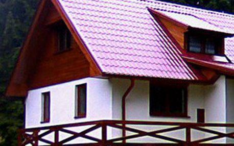 Dovolená na ŠUMAVĚ s rodinou nebo přáteli! 4denní pronájem moderně vybavené chaty U Spoustů nedaleko Vimperku, ubytování až pro 10 osob