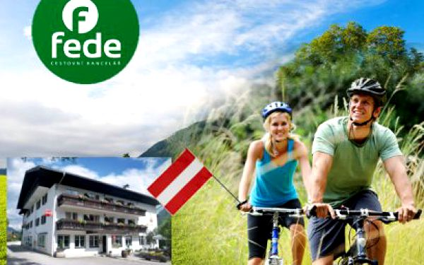 5 denní cyklo zájezd napříč Rakouskem za 6990 Kč! S dopravou, ubytováním i polopenzí!
