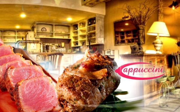Tonnato vitello - italská specialita v podobě pečeného brzlíku a tuňáka doplněná kaparovo-tuňákovou majonézou za 119 kč! Nevšední gurmánský zážitek v original restaurantu cappuccini se slevou 50%!