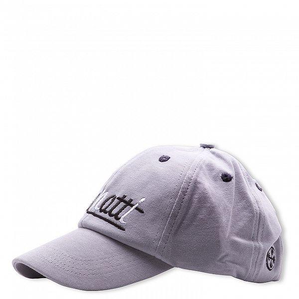 Pánska svetlo šedá baseballová čapica Brunotti s vyšívaným logom