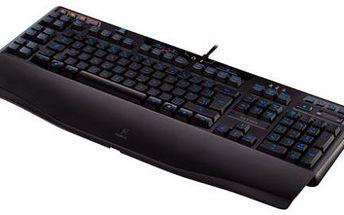 LOGITECH klávesnice G110 Keyboard, USB, černá US layout