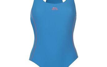 Jednodílné plavky Slazenger modré