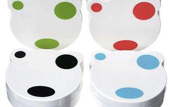 Cestovní pouzdro na kontaktní čočky ve tvaru medvídka a poštovné ZDARMA! - 441