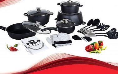 21dílná sada nádobí pro zdravé a efektivní vaření!