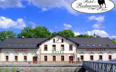 Romantický víkend v Hotelu u Jelena v Mikulovicích u Jeseníků pro 2 osoby na 3 dny (2 noci) včetně polopenze a 1x romantické večeře o třech chodech za fantastických 1399 Kč!