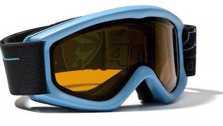 Alpina Carat D kyan - dětské lyžařské brýle se systémem Doubleflex. 100% ochrana proti UV záření