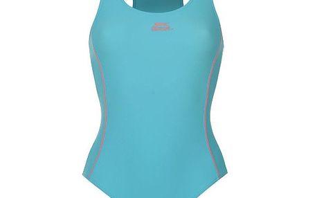 Jednodílné plavky Slazenger tyrkysové