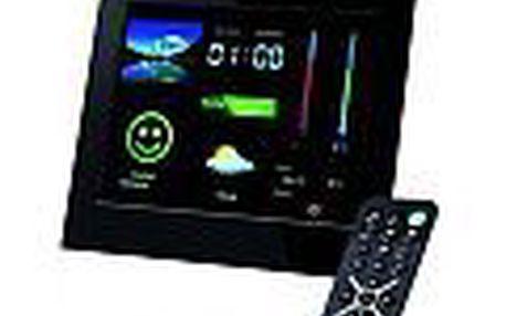 Intenso LCD fotorámeček 8'' WeatherStar - Meteorologická stanice