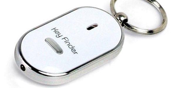 KEY FINDER - Stačí jen písknout!! Hledač klíčů!! +LED světlo!!