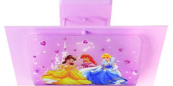 Stropní svítidlo PRINCESS s parádivými princeznami na stínítku z návrhu studia Disney