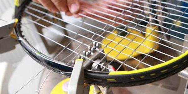 Profesionální vyplétání raket v centru Prahy: Squash, badminton, tenis!
