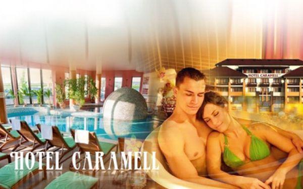 3 BÁJEČNÉ dny pro 2 osoby včetně PLNÉ PENZE a dalších benefitů v hotelu Caramell**** v Maďarsku za 4 390 Kč! Odpočiňte si a relaxujte nedaleko lázní Bükfürdó se slevou 41%! Voucher je platný 1 ROK!