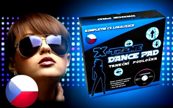 Taneční podložka x-treme dance český design balení!! + stepmania kompletně v češtině!! Cenový hit!!