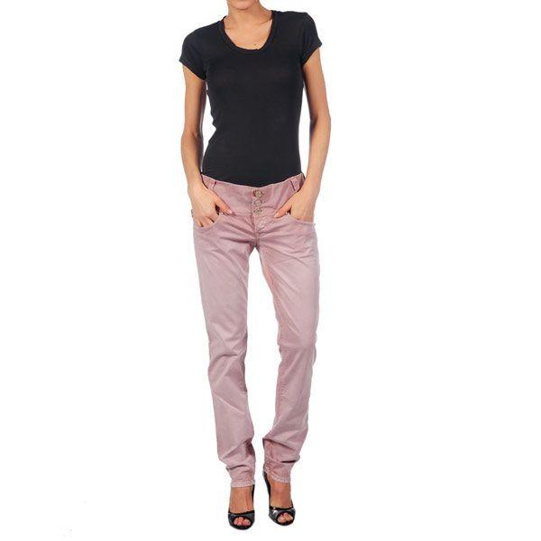 Dámske ružové nohavice Nolita