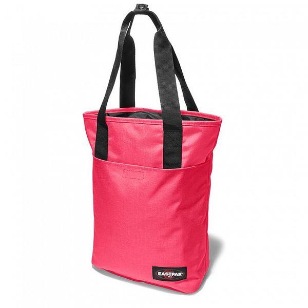 Dámská pastelově růžová taška Eastpak s černými detaily