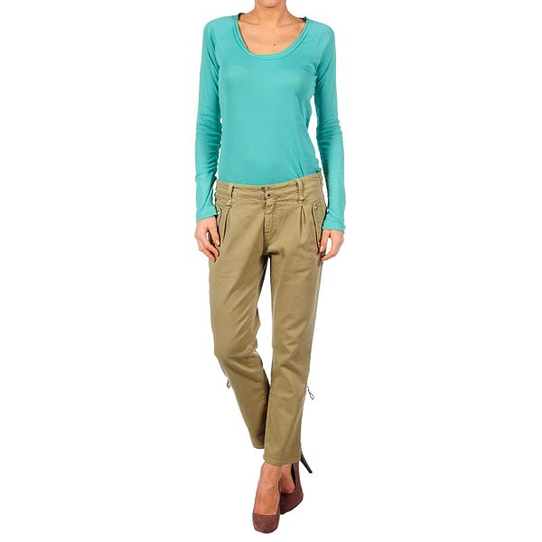 Dámské khaki kalhoty Nolita