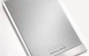 "Externí harddisk HDD ext. 2,5"" A-Data Nobility NH13 500GB USB 3.0 - černý"