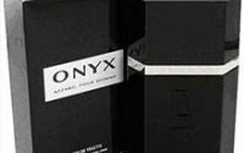 Pánský parfém Azzaro Onyx 100 ml ze svěžího bergamotu, opojné levandule a sladké mandarinky.
