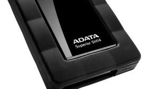 "Externí harddisk HDD ext. 2,5"" A-Data Superior SH14 500GB USB 3.0 - černý"