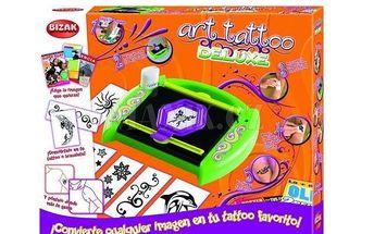 Art Tattoo Deluxe - tetovací studio. Vytvoř si super tetování z jakéhokoliv obrázku