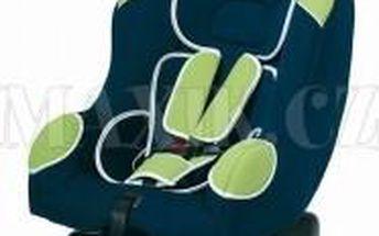 Autosedačka Genius Bellelli zelenomodrá 9-18kg - vysoká kvalita zpracování