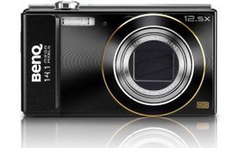 Špičkový fotoaparát BenQ GH200 (9H.A2C0A.8AE) - 14,1 MP, 12,5 x optický zoom