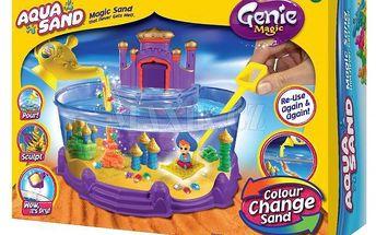 Aqua sand – Hrací set Aladin. Vytvoř podvodní svět z písku, který není nikdy mokrý!
