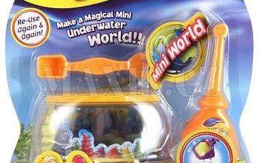 Aqua sand mini set s akváriem - Vytvoř, vymodeluj a podívej – písek je suchý!