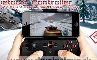 Bezdrôtová herná Bluetooth konzola pre iPhone/ iPad/ iPod Touch/ Android/ iOS/ PC.