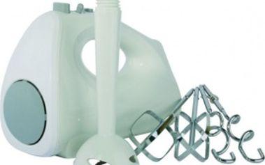 Ruční mixér Professor CZ602 se 2 hnětacími háky a 2 šlehacími metlami.