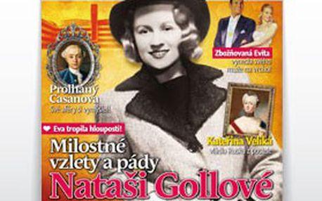 PRAVDIVÉ PŘÍBĚHY lásky, vášně a zrady! 3 čísla časopisu LOVESTORY – historická červená knihovna JEN za symbolických 9 Kč včetně poštovného!