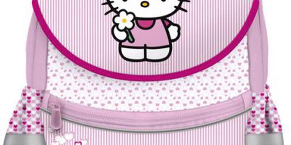 Anatomický školní batoh Hello Kitty