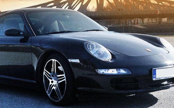 Zážitek z jízdy v legendárním Porsche Carrera 4S