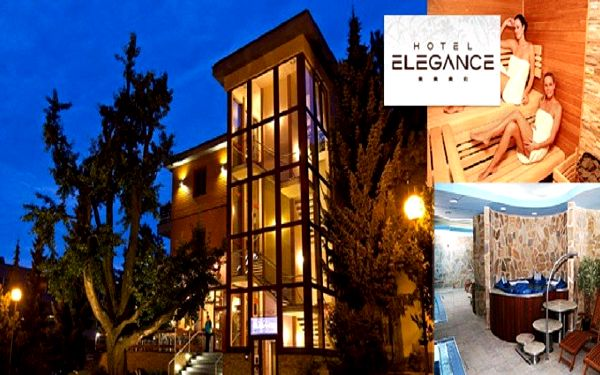 3, 4 nebo 5 dní dovolené s mnoha zážitky a wellness službami v hotelu Elegance****